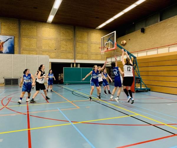 Basketbal mini's en seniorenteams van Wierdens SVZW pakken winst
