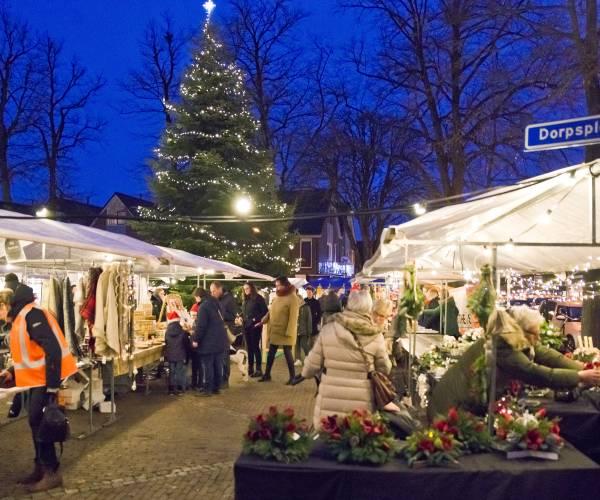 Kerstmarkt in Enter geheel vernieuwd; meer kramen, activiteiten en een tent