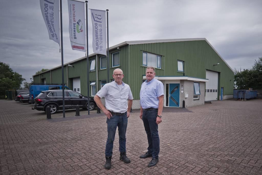 Gerrit en Frank Jannink.