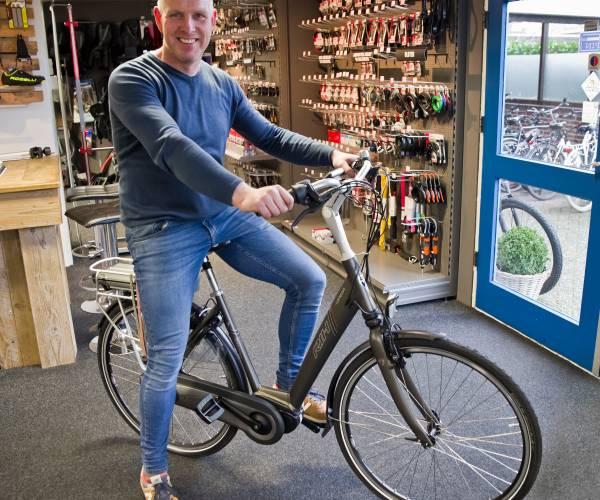 Alle sport er uit en fietsen er in bij Van Ravenhorst Rijwielen Wierden