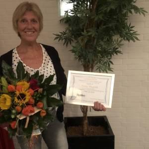 Janny Stegink 'lid van verdienste' bij Fysion Nijverdal