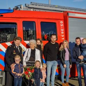 Brandweerman Peter Krol viert 40-jarig jubileum