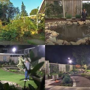 TV-crew 'De Grote Tuinverbouwing' in Wierden: wildernis nu mooie siertuin