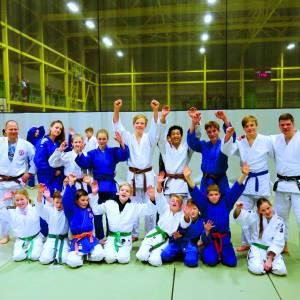 Judoka's volgen stage in Hoogvliet en Koksijde