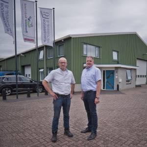 Bouwbedrijf Jannink uit Hoge Hexel timmert al honderd jaar aan de weg