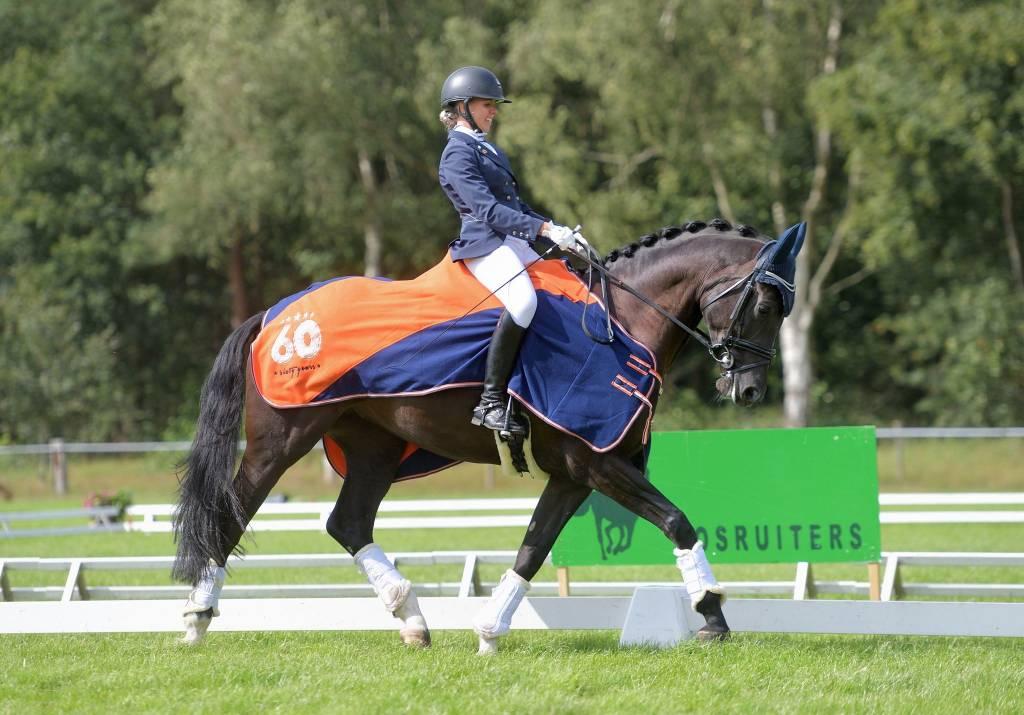 Paarden: Winnaar Marije Lentfert met La Flori.