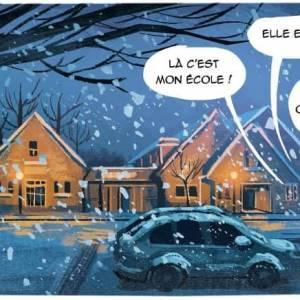 Hellehond figureert in Frans stripboek