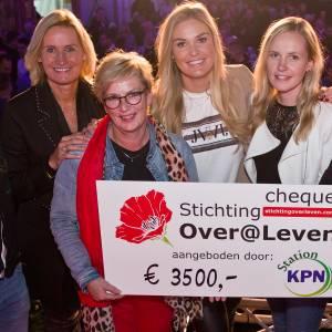 Station KPN doneert deel opbrengsten Sunte Mart'n aan Stichting Over Leven