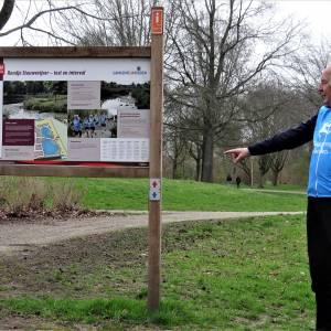 Speciaal parcours rond Stouwevijver: houdt conditie op peil met hardlopen