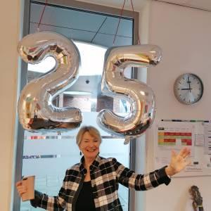 Bijzondere mijlpaal voor Ineke Kuiper met 25-jarig jubileum