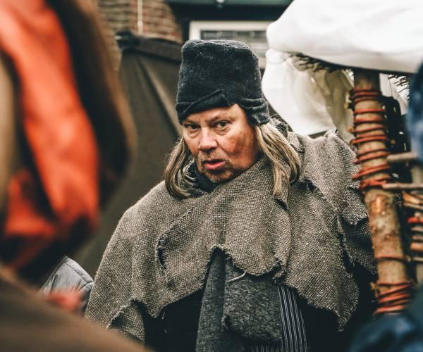 Historisch Schouwspel met wintermarkt in Den Ham