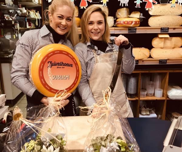Overname leukste kaaswinkel van Rijssen door Noël en Maxime