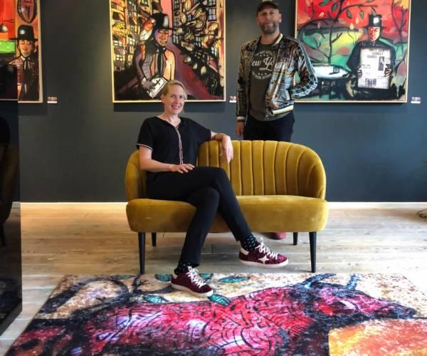 Sunny Side Art Shop opent haar deuren in Nijverdal.