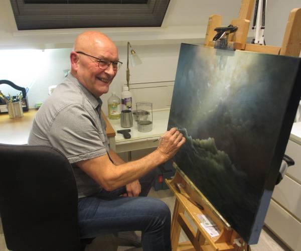 'Beelddenker' Henk Kleijer: 'Ik heb vaak al iets in mijn hoofd dat ik wil schilderen'