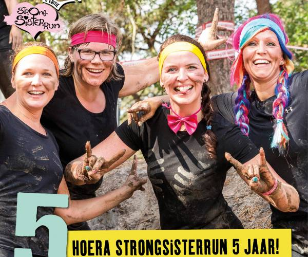 StrongSisterRun Hellendoorn viert dit jaar 't eerste lustrum
