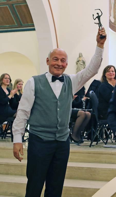 De bevlogen Enternaar Frans Poelman – hier winnaar van Maestro 2018 – heeft het voorzitterschap van de Roetgerink Foundation op zich genomen.