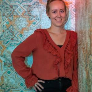 Eva Visser schreef blogs vol lief en leed over borstkanker
