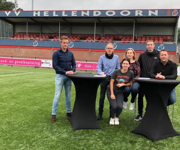Hoofdsponsor Henk Olthof verlengt hoofdsponsorschap v.v. Hellendoorn