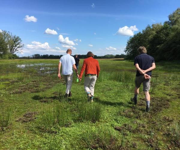 Veldexcursie met bodemexpert en boswachter over Zunasche Heide