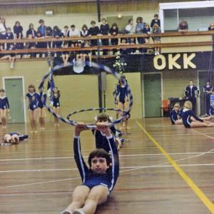 Reünie en jubileumdemo van Ritmische Gymnastiek