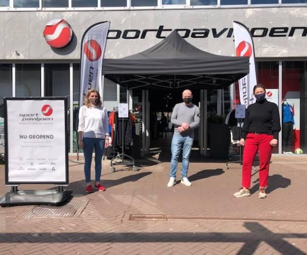 Sport en Fashion Outlet opent deuren