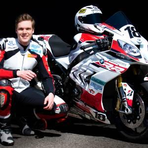 Joris Lentfert ook in 2021 op de BMW van start in IDC Dutch Superbike klasse