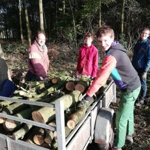 Actief in buitenlucht tijdens Natuurwerkdag in Wierden