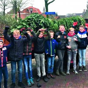 Kerstbomenactie SDC'12-jeugd groot succes