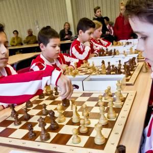 Widerode scoort alweer wisselbeker op Wierdens schoolschaak kampioenschap