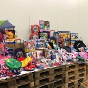 Speelgoed voor kinderen gezinnen Voedselbank gemeente Losser