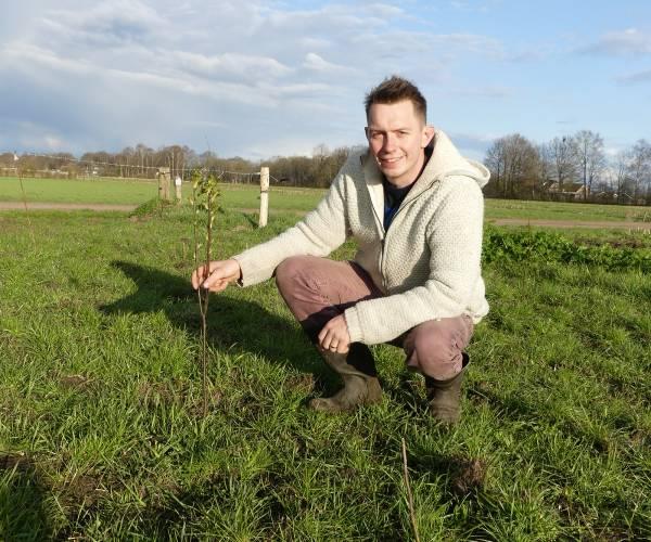 Trotse grondeigenaar Bas Hekman kiest voor het landschap