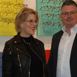 Laura Braakhuis geeft stokje door aan Mark Diekman