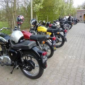 Enterse Motor Club EMC zoekt mensen met klassieke motoren