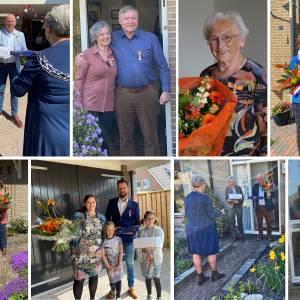 Negen inwoners in gemeente Wierden gedecoreerd met hoge onderscheiding