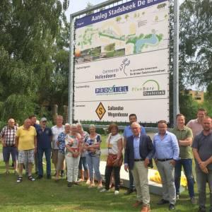 Aanleg Stadsbeek als verbinding tussen Regge en centrum Nijverdal