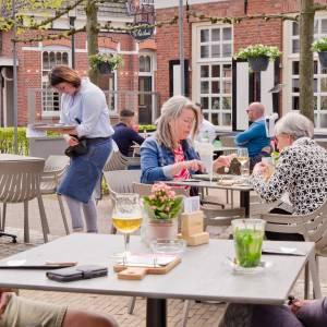 Eindelijk weer gezelligheid op terrasjes in gemeente Wierden