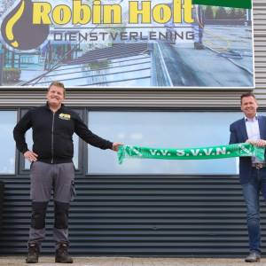 Robin Holt Dienstverlening nieuwe hoofdsponsor SVVN!