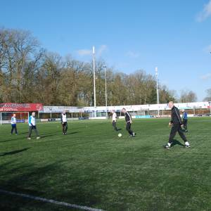 Walking Football van Regge United: oud-voetballers terug op het veld