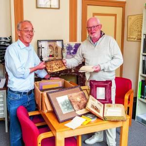 Heemkunde Denekamp ontvangt uniek historisch materiaal van bekende Denekampse families