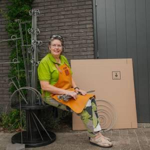 Bornse Tuinfee ontwerpt unieke hortensia standaard