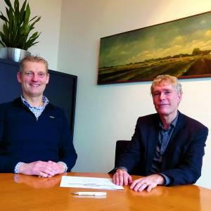 Woningstichting Tubbergen en gemeente Tubbergen ondertekenen jaarschijf 2020