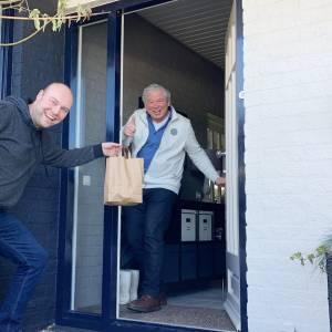 Klootschietvereniging Hertme ging met gehaktballen langs de deuren