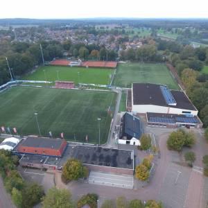 Sportpark Voordam leeg op eerste weekend in tweede coronagolf