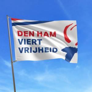 Heel Den Ham vlagt voor vrijheid