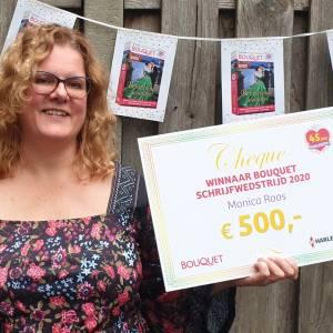 Losserse wint Bouquet schrijfwedstrijd