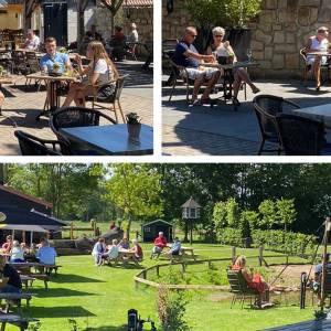 Wierdense cafés en restaurants weer open; eigenaars blij ondanks zware beperkingen en stevige regelgeving