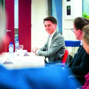 Kinderminister Luca Ripolli wil politiek toegankelijker maken voor jong en oud