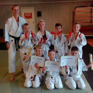 Judoka's Judokwai allemaal geslaagd voor examen!