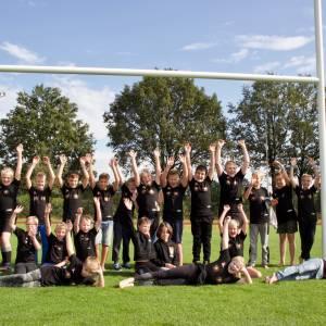Jeugd Dragons geniet van eerste rugbykamp ooit