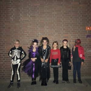 Griezelen in De Kajuit tijdens Halloweenparty